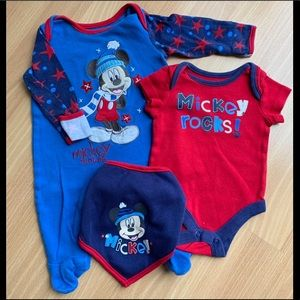 Disney baby at George Mickey Set, 0-3 month